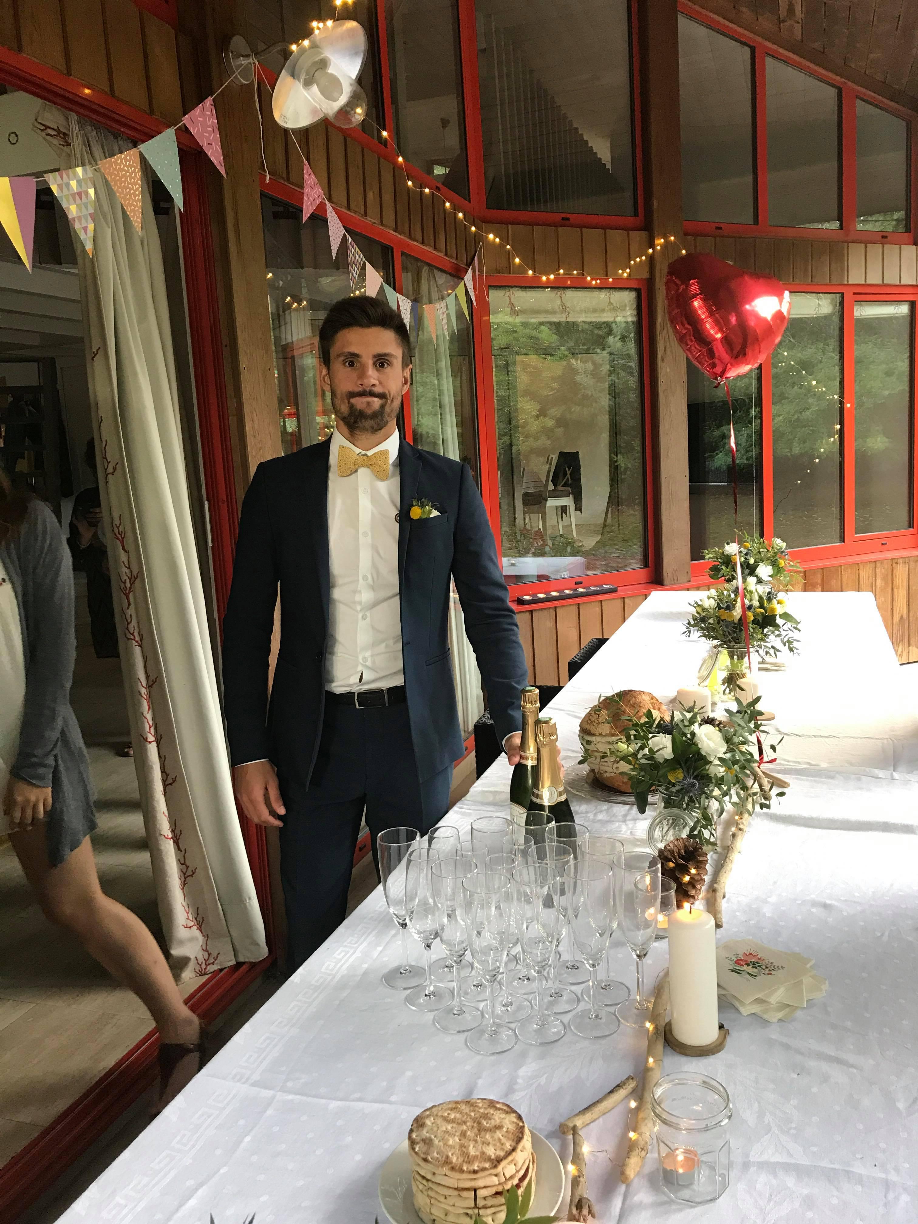 Mon mariage civil au bord de l'océan : la soirée