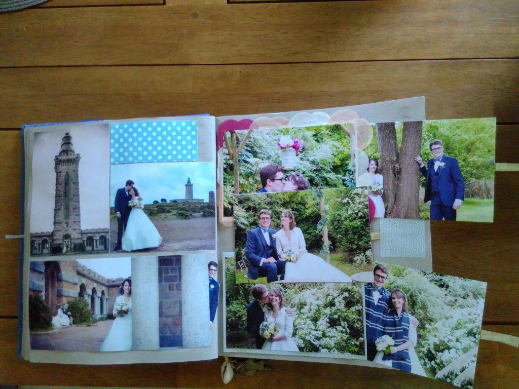 L'album photo DIY de notre mariage