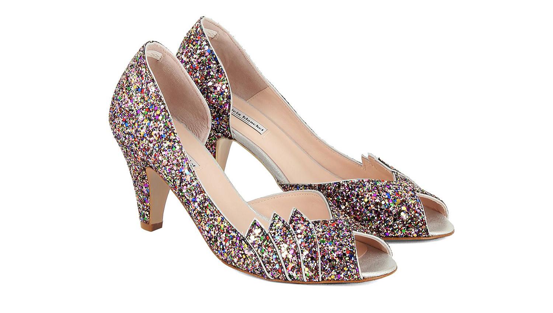 Chaussures de Cendrillon et autres accessoires de mariée