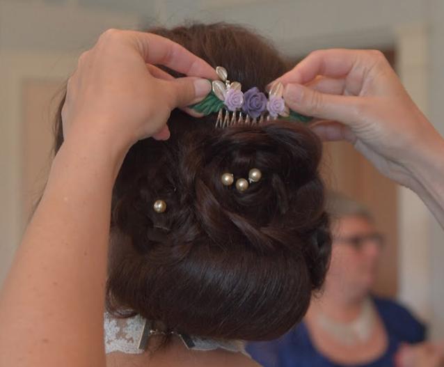 Peigne de mariée Etsy - Crédit : La vie en HD