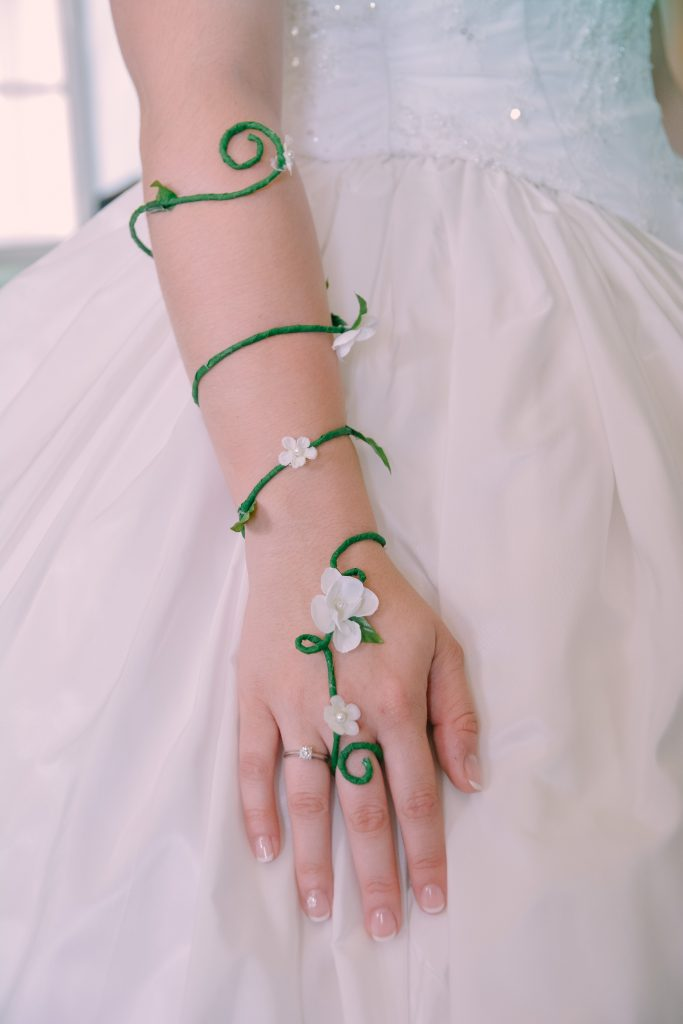 Accessoires mariage Mme Solène - Crédit : La vie en HD