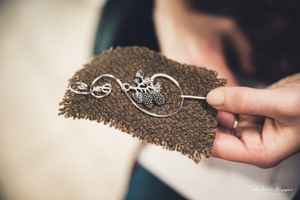 Mes accessoires de mariée d'hiver // Photo : Pauline Kupper