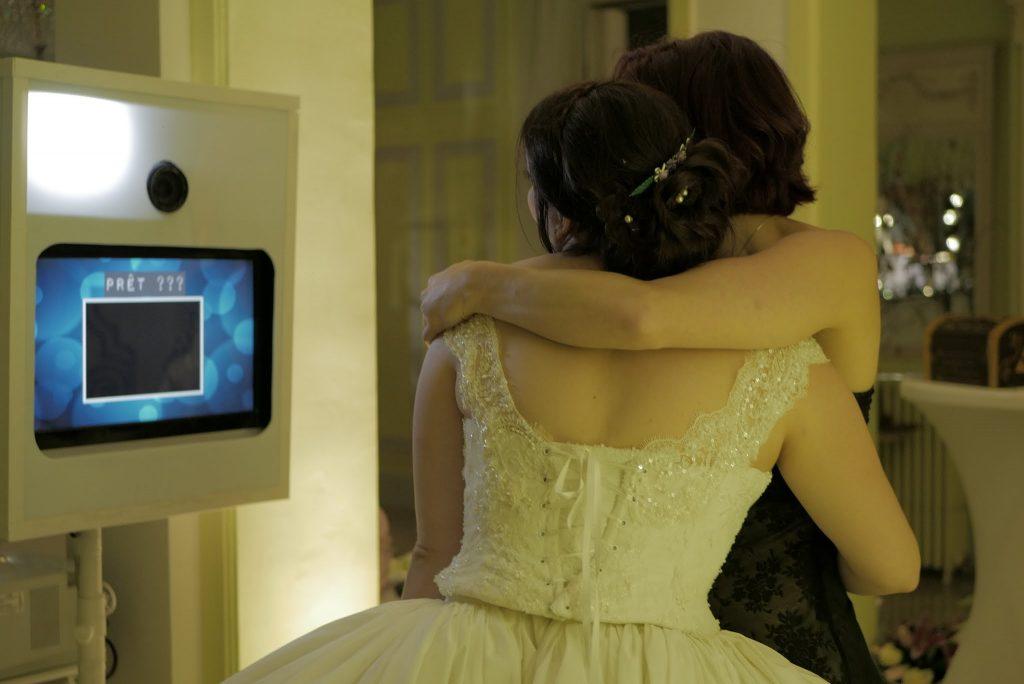 Borne photo pour mariage - Crédit : La vie en HD