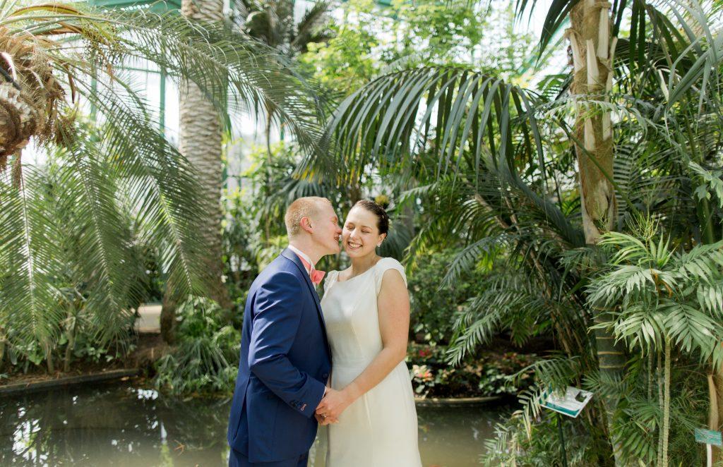 Mon mariage bilingue en cuivre et succulentes : la séance photo et l'échange des voeux