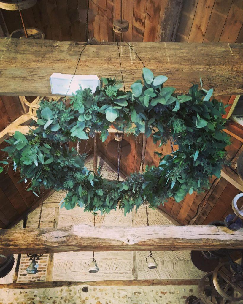 Mise en place de ma décoration de mariage