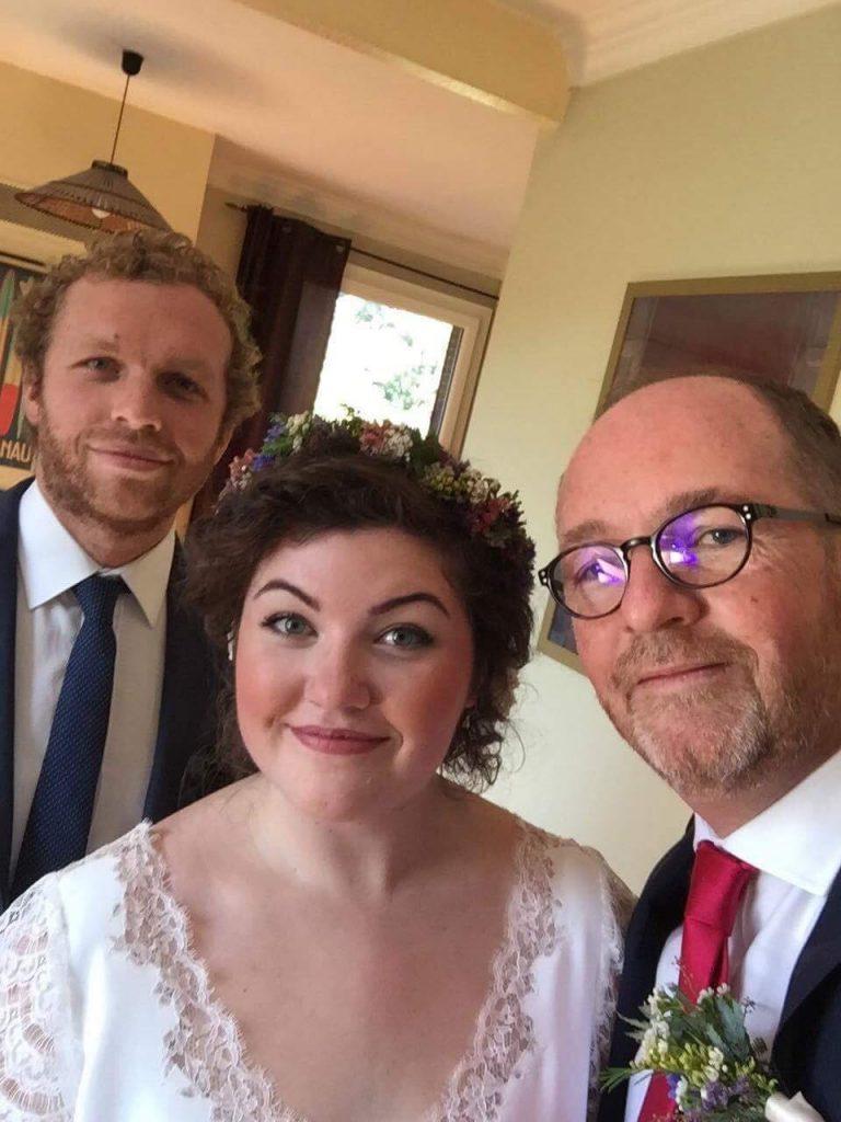 Les préparatifs de la mariée et du marié