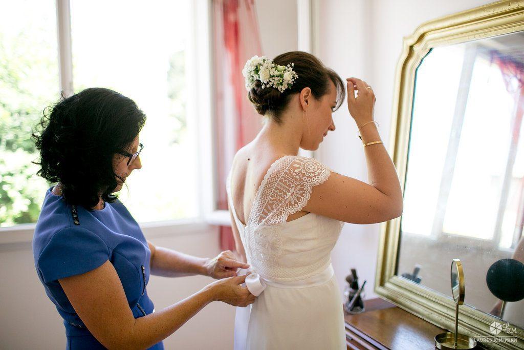 Comment s'habiller quand on est parents de la mariée // Photo : Lauren Kim-Minn