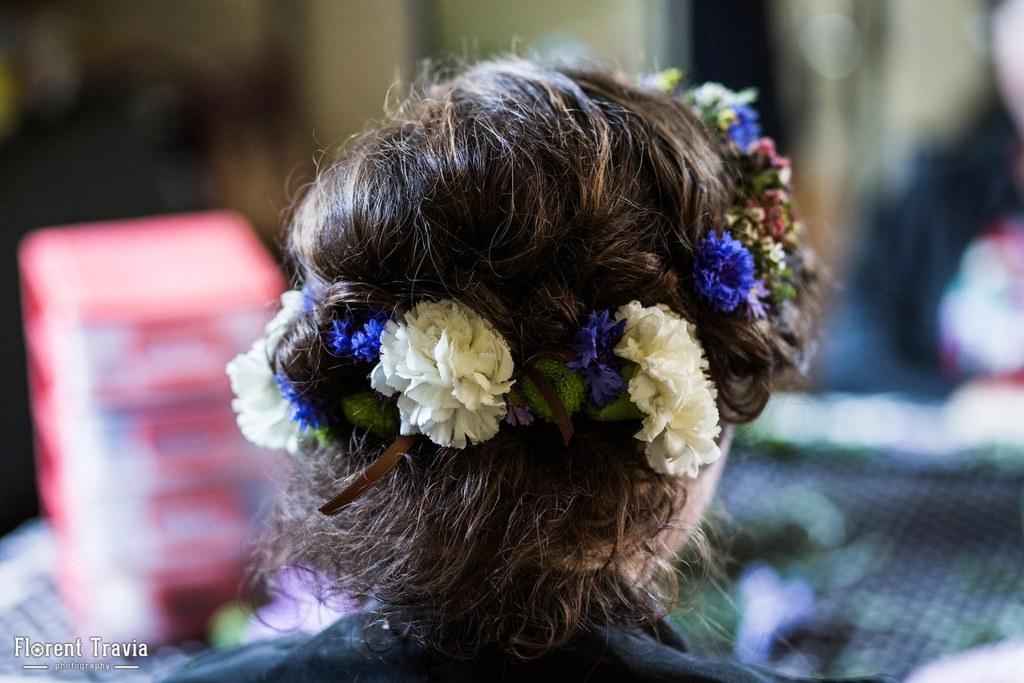 Mes préparatifs du matin du mariage // Photo : Florent Travia