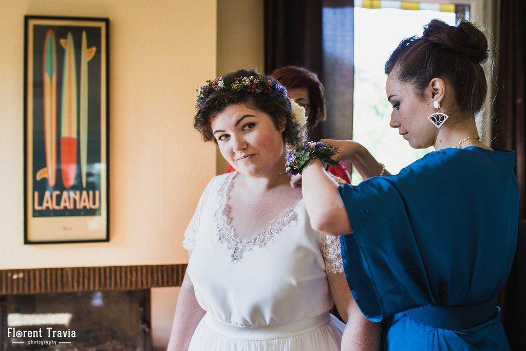 Les préparatifs de la mariée et du marié // Photo : Florent Travia