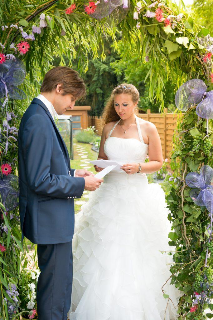 Nos vœux et nos photos de couple dans un jardin japonais // Photo : UltraSpider Wedding