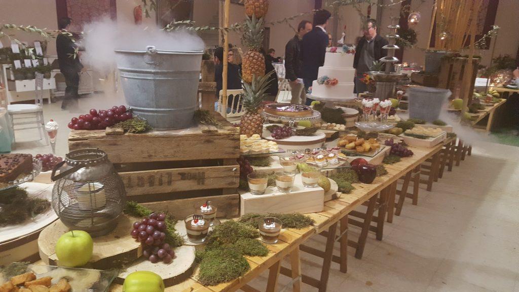 Le choix de notre dessert de mariage en Espagne