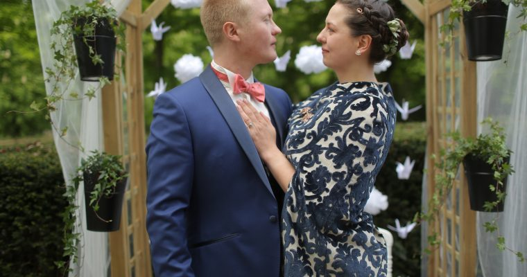 Mon mariage bilingue en cuivre et succulentes : le vin d'honneur