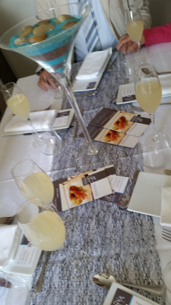 Notre repas de mariage presque végétarien