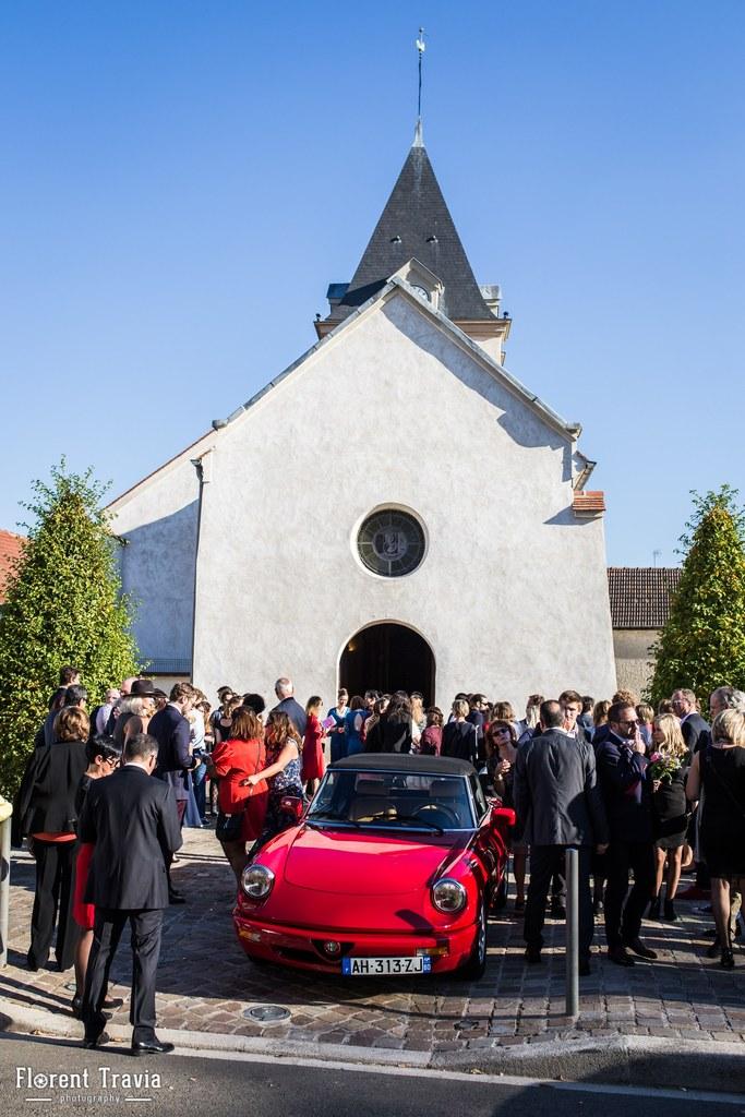Notre sortie d'église // Photo : Florent Travia