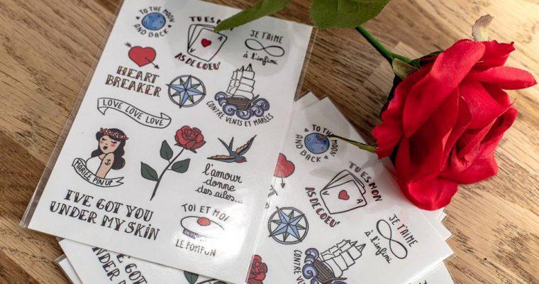 Gagne tes Petits Tattoos avec Petit Mariage entre Amis : les résultats du concours