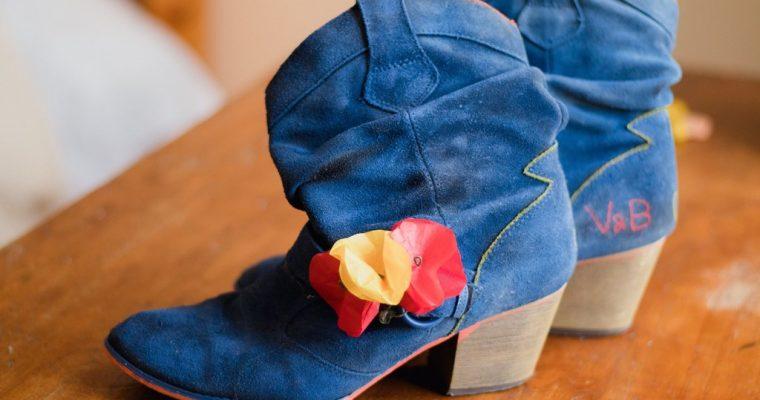 L'épisode des chaussures customisées
