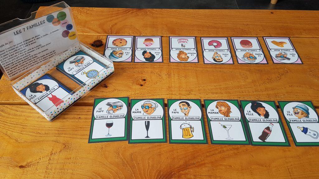 Jeux et déco de la table des enfants