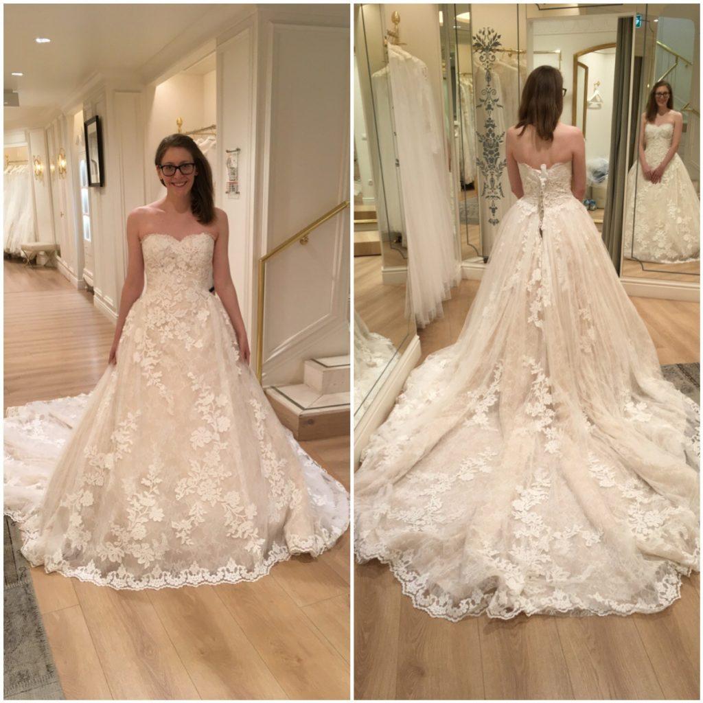La recherche de robe de mariée de ma chérie