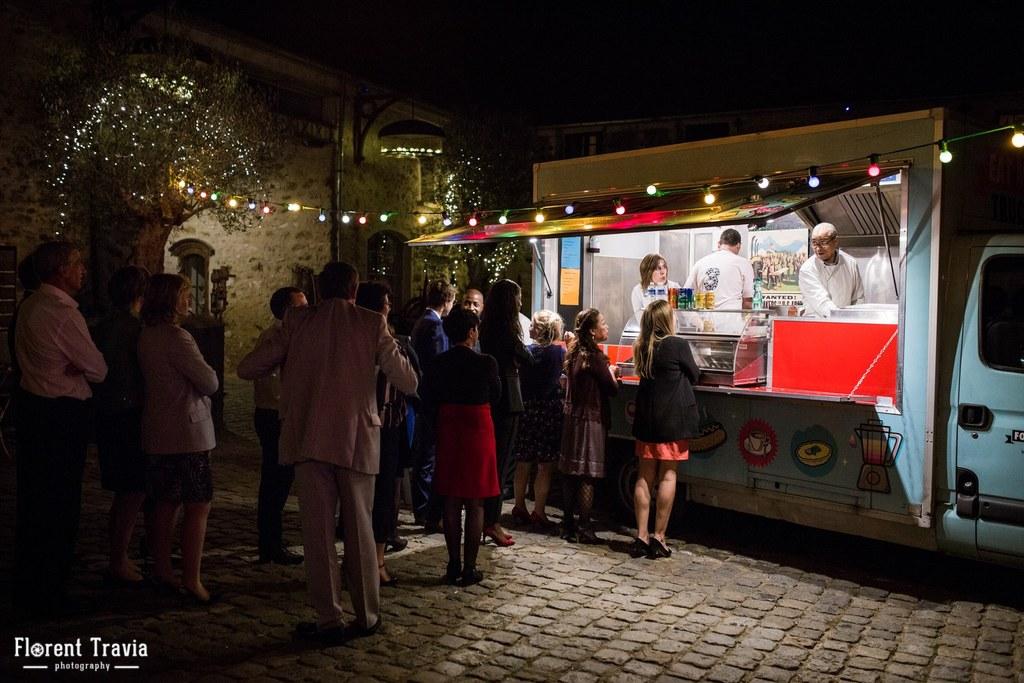 Notre expérience du food truck de mariage // Photo : Florent Travia