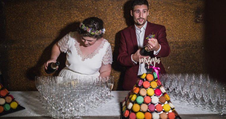Mon mariage fun et fleuri d'été indien : suite et fin de notre repas
