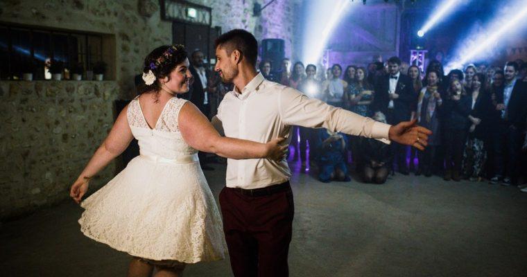 Mon mariage fun et fleuri d'été indien : notre ouverture de bal