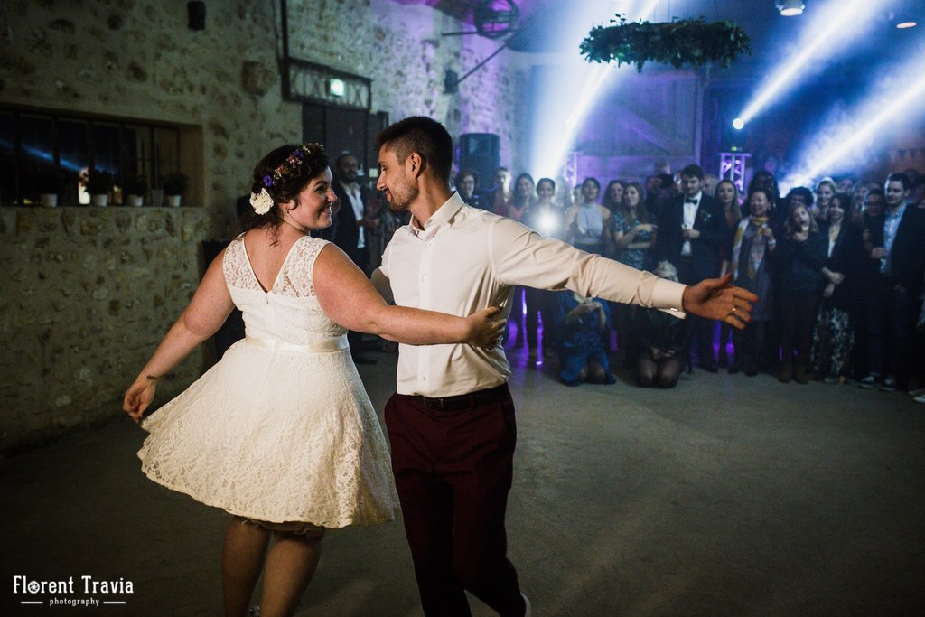 Notre ouverture de bal sur une choré de Dirty Dancing // Photo : Florent Travia