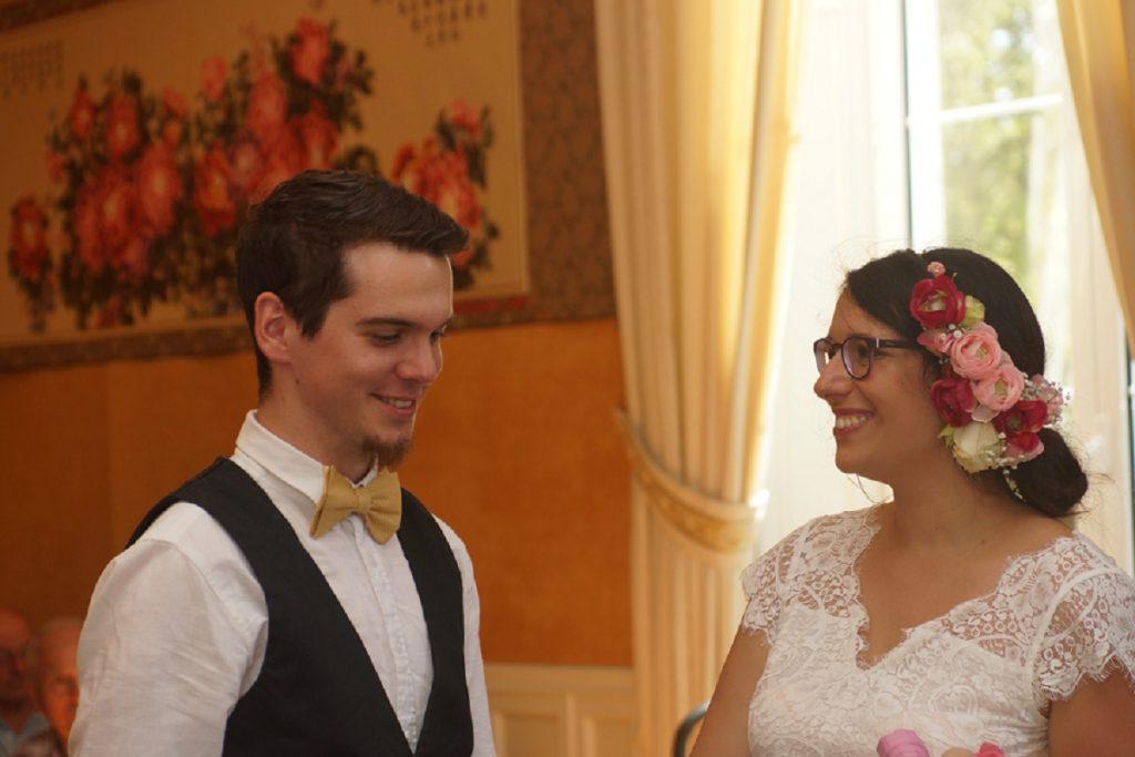 Le mariage de Freesia sans chichi et en plein festival