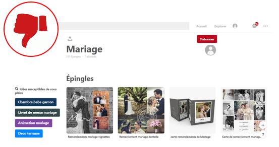 Bien utiliser Pinterest pour ton mariage