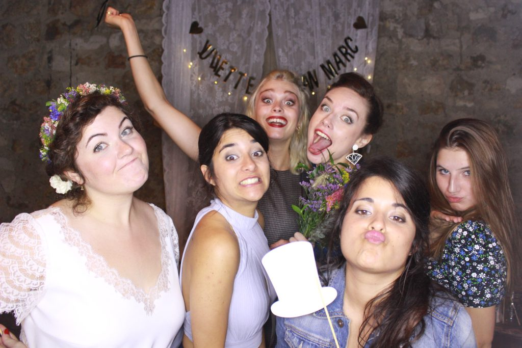 Nos animations de mariage : photobooth et karaoké