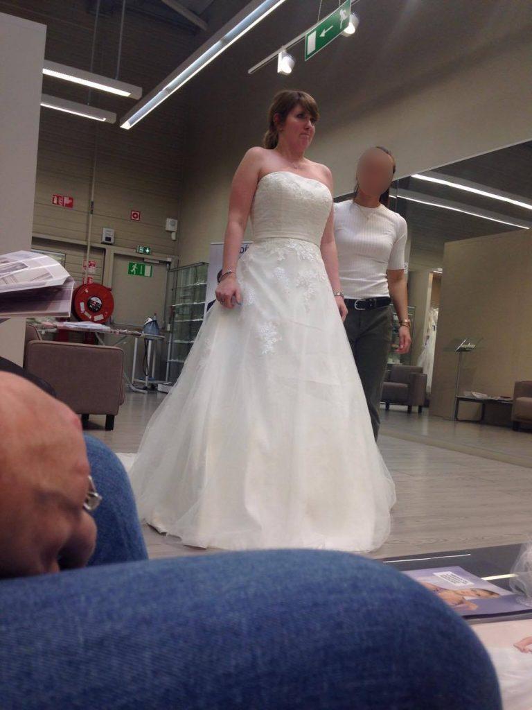 Essayages de robes princesse