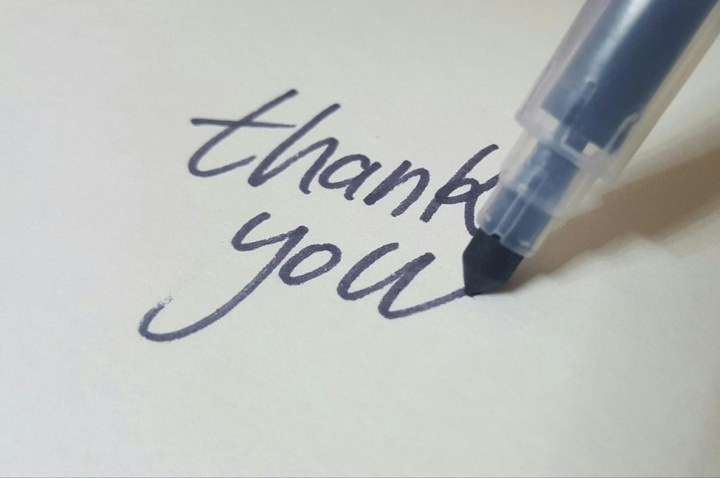 Comment faire des remerciements personnalisés
