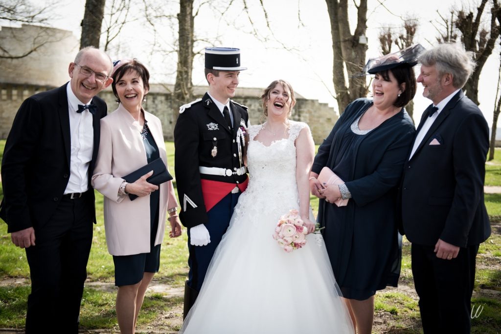 Nos photos de groupe avant de rejoindre nos invités // Photo : Lucie Nicolas