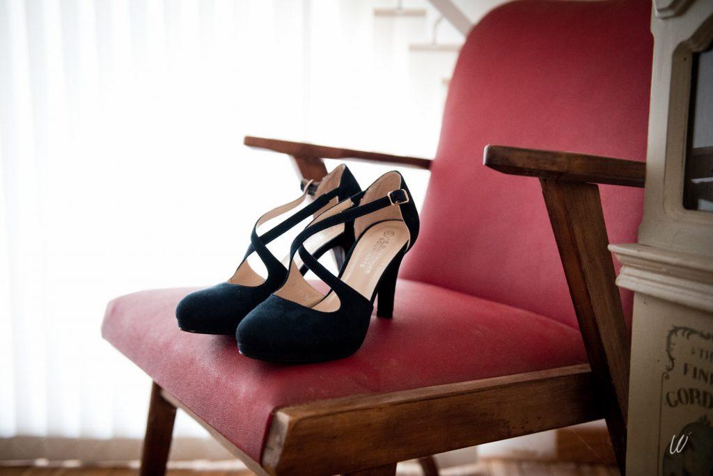 Les accessoires de ma tenue de mariée : mes chaussures // Photo : Lucie Nicolas Photographe