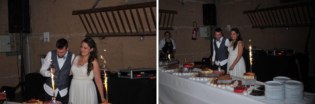 Notre soirée de mariage