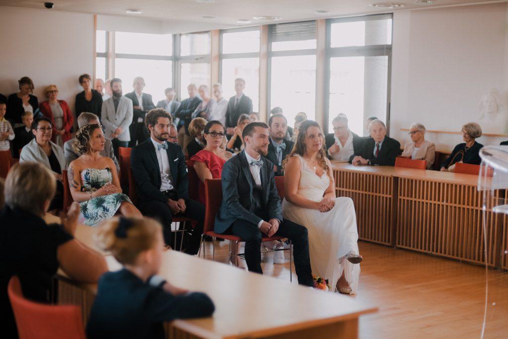 Notre cérémonie à la mairie et notre goûter // Photo : Eulalie Varenne