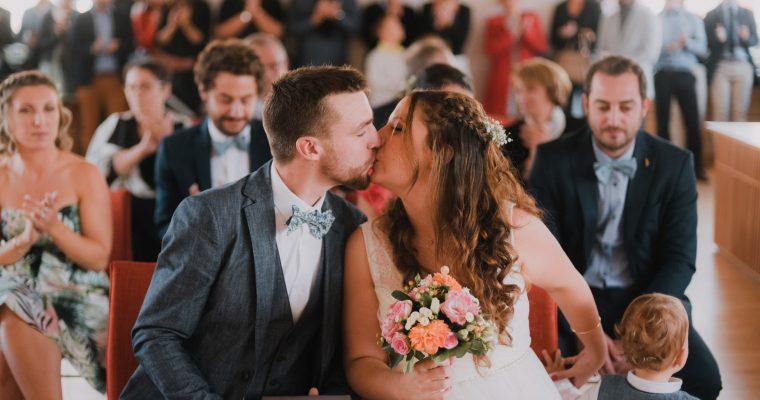 Mon mariage DIY à la cool : la mairie et le goûter