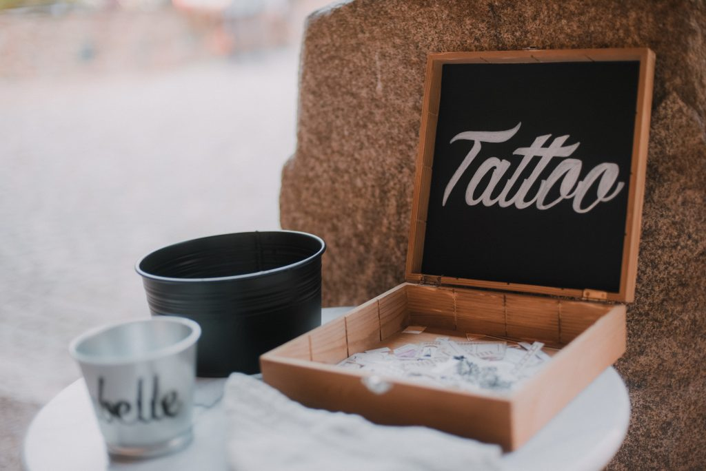 Des tatouages éphémères pour ton mariage !