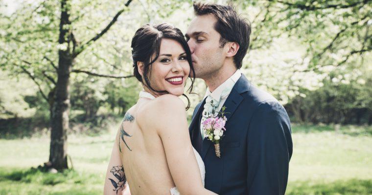 Le mariage de printemps en deux temps de Camille