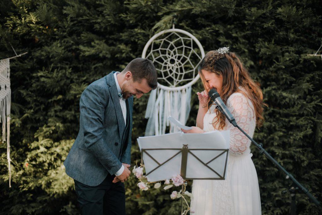 Notre cérémonie d'engagement et notre cocktail // Photo : Eulalie Varenne