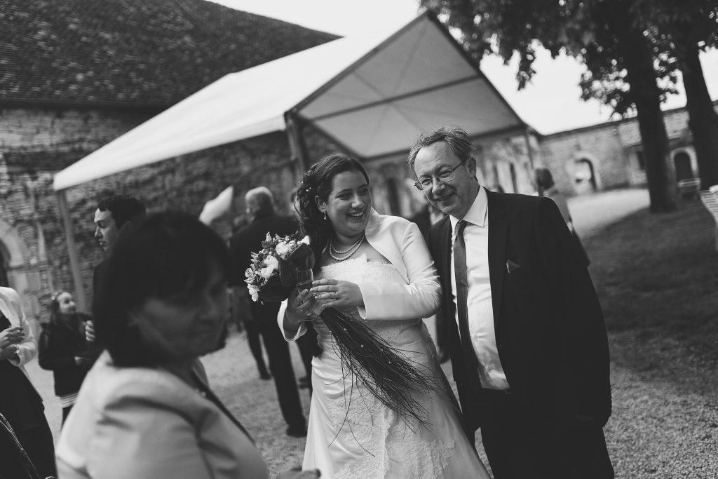 Notre vin d'honneur // Photo : Castille Alma et David Pommier