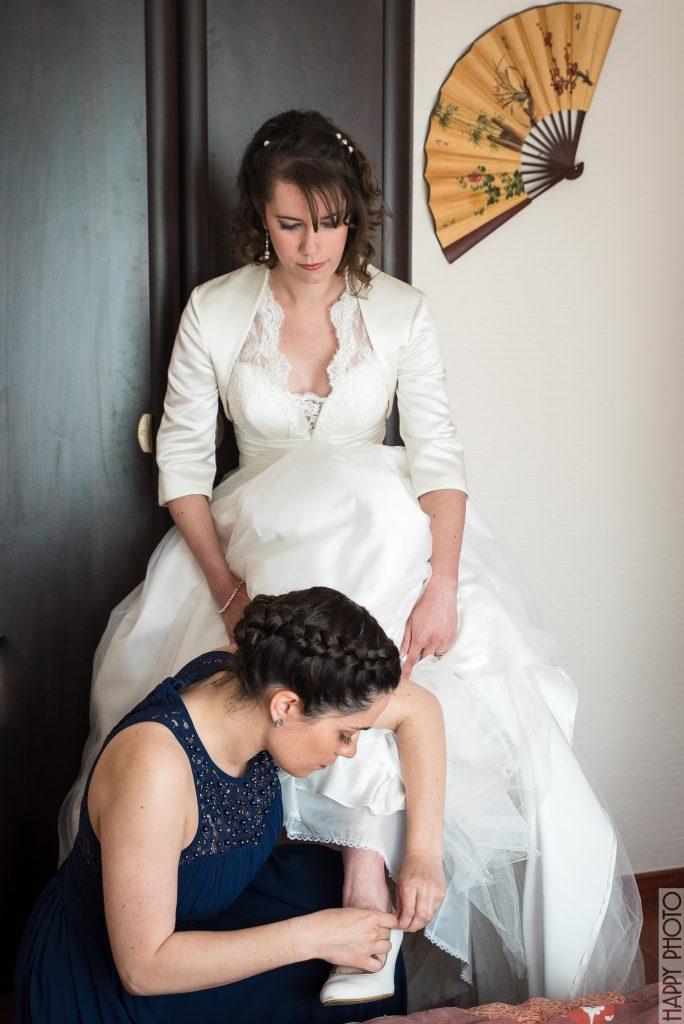 Les préparatifs de mon mariage breton // Photo : Happy Photo