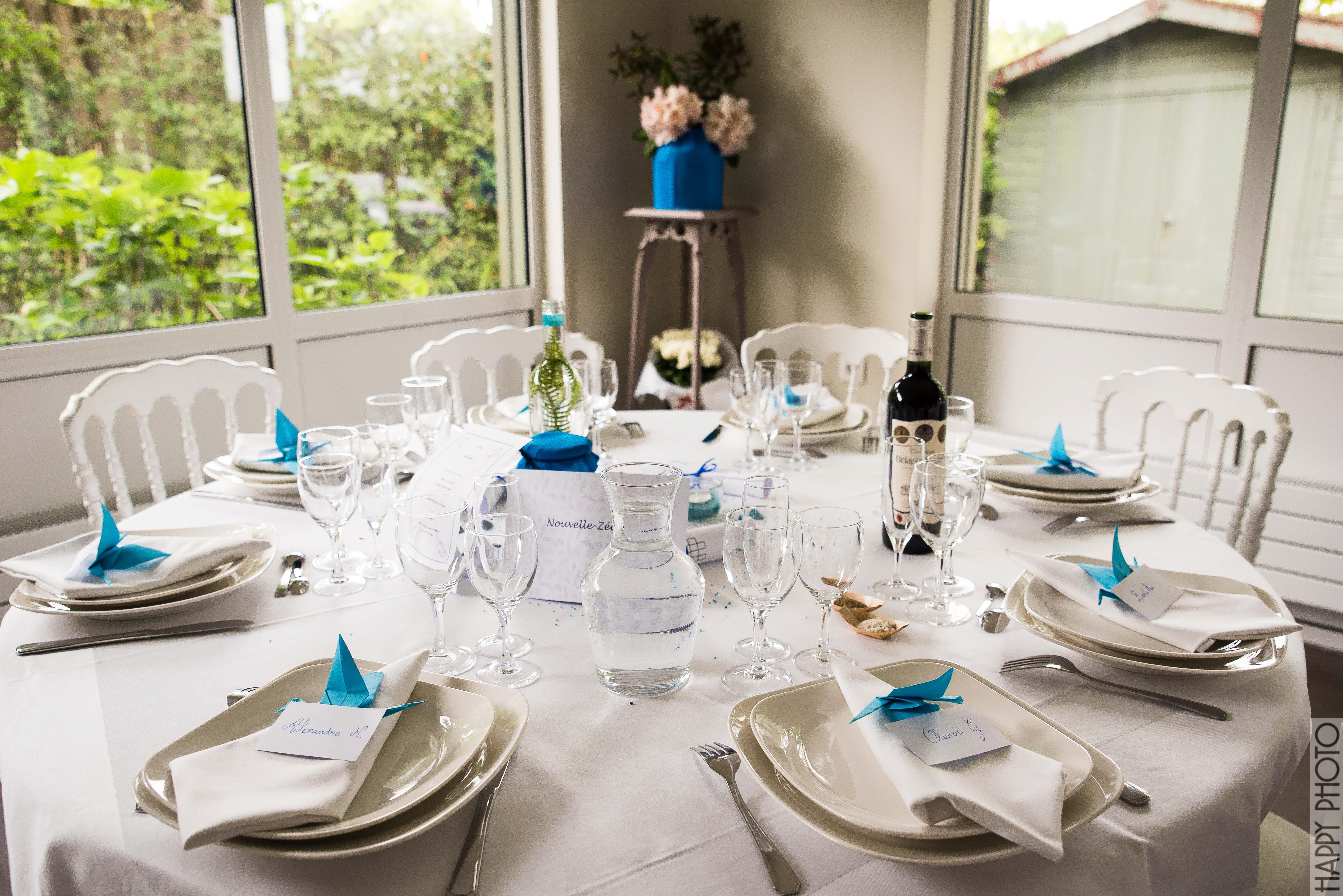 """Deco De Table Bretonne la décoration """"bord de mer"""" de notre mariage   mademoiselle"""