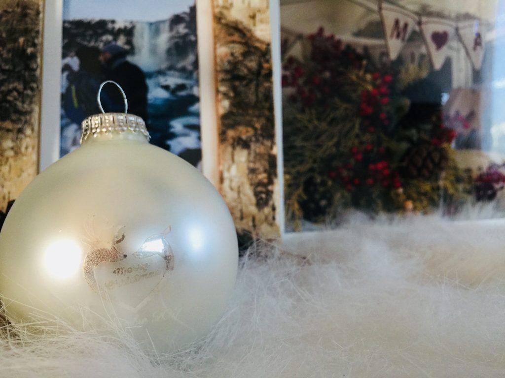 La mise en place de ma décoration hivernale