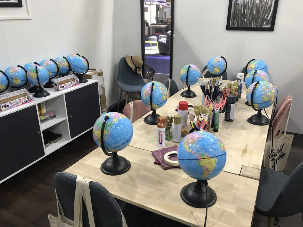 DIY mariage : customisation d'un globe