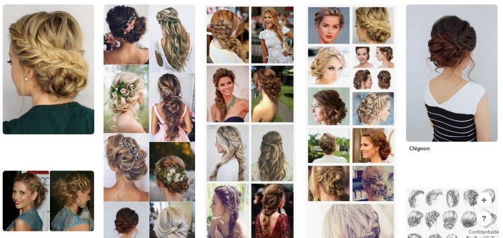 Idées de coiffure pour mon mariage