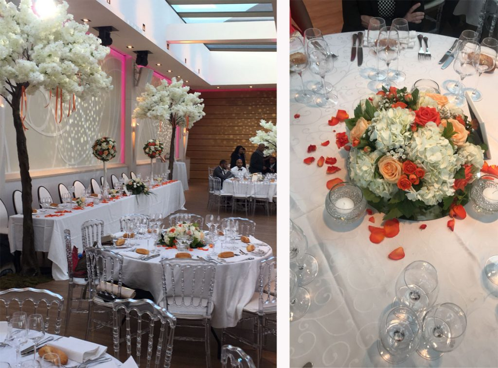 Mon mariage fleurs et corail // Photo : RG Studio Wedding