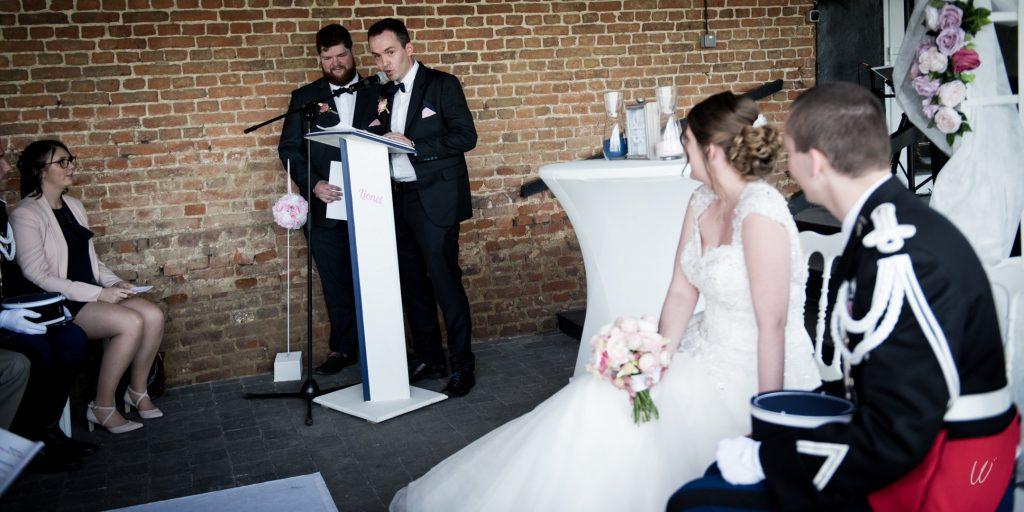 Notre cérémonie d'engagement 100% surprise // Photo : Lucie Nicolas