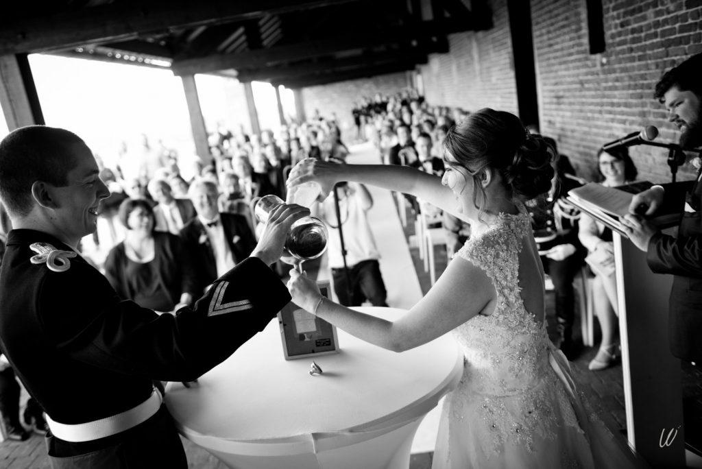 Rituels et voeux de notre cérémonie laïque // Photo : Lucie Nicolas