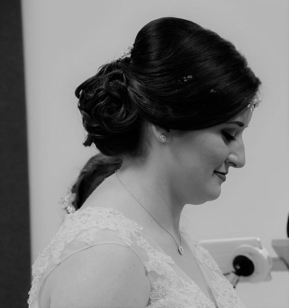 Ma coiffure et mon maquillage de mariée // Photo : Vincent Andreoli