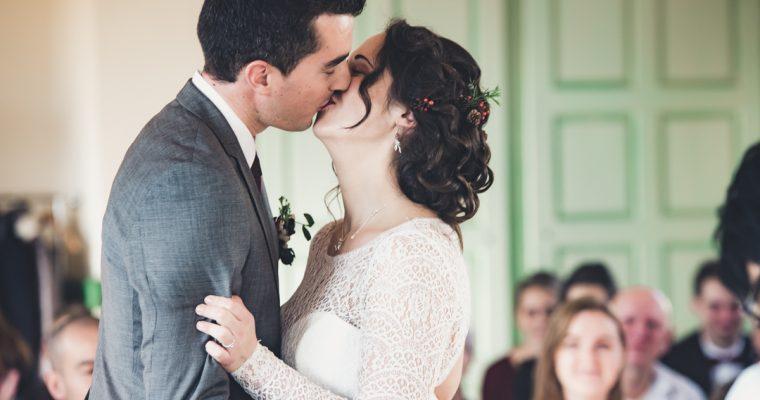 Mon chaleureux mariage enneigé : la cérémonie civile
